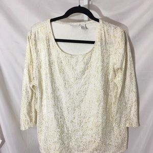 Weekend by Chico's Tops - #349–. Weekend Chico's beige knit top size 3, XL